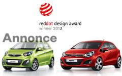 Kia vinder designpris
